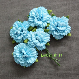 Carnations - Teal