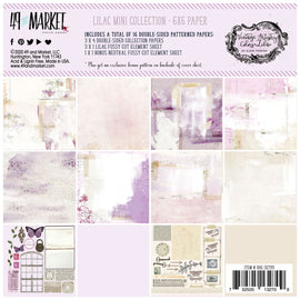 49 and Market - Vintage Artistry Lilac - 6x6 Collection Pack
