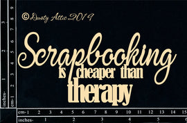 "Dusty Attic - ""Scrapbooking is Better than Therapy"""