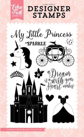 Echo Park - Stamp Set - My Little Princess