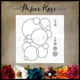 Paper Rose - Bubbles Circle Die
