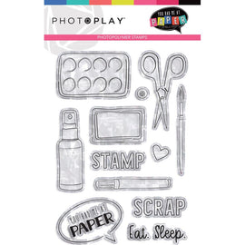 Photo Play - You Had Me At Paper - Clear Stamps