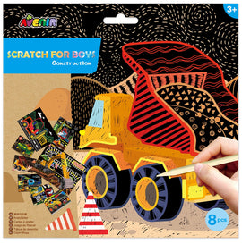 Avenir - Scratch - Construction (8pcs)