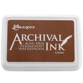 Ranger - Archival Ink Pad - Coffee