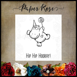 Paper Rose - Hip Hip Hooray Stamp