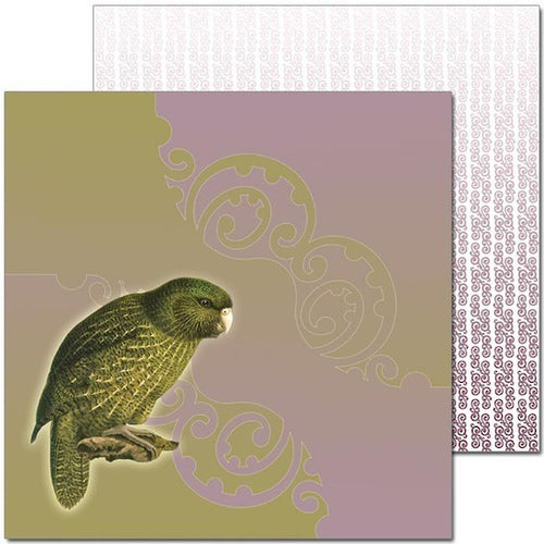 Craft Co - Pavlova NZ Birds - 12x12 Paper Kakapo (PV19021)
