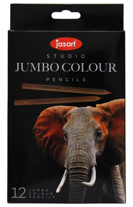 Jasart - Studio Jumbo Colour Pencils