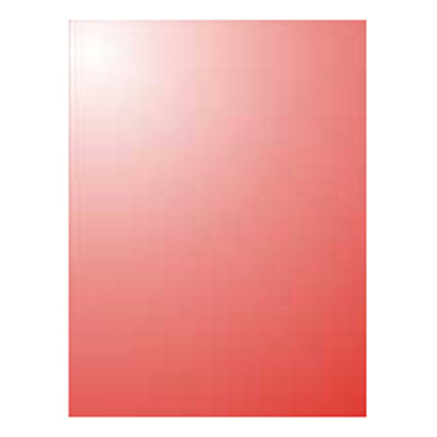 Sullivans - Foil Mirror A4 Card - Red
