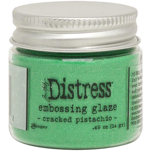 Tim Holtz Distress Embossing Glaze - Cracked Pistachio