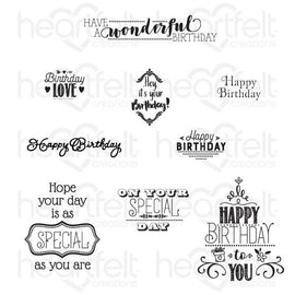 Heartfelt Creations - Special Birthday Sentiments