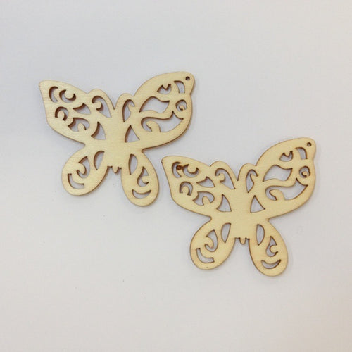 Artfull Embellies - Wooden Shapes - Large Butterfly