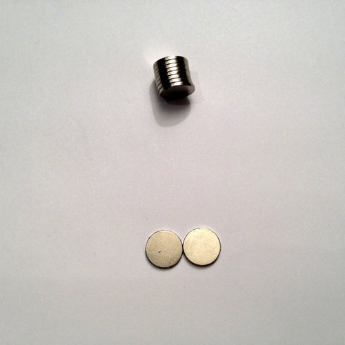 Neodymium Strong Magnets (10mm x 1mm) - 10 pack