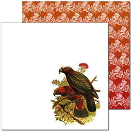Craft Co - Pavlova NZ Birds - 12x12 Paper Kaka (PV19025)