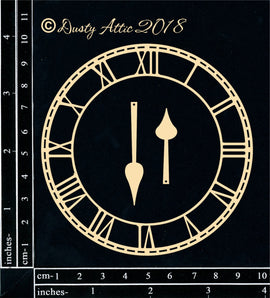 "Dusty Attic - ""Skeleton Clock Face Small"""