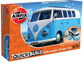 Airfix - Quick Build - Volkswagen Camper Van - Blue