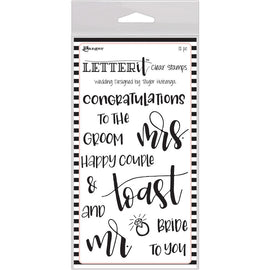 Ranger - Letter It Clear Stamps - Wedding