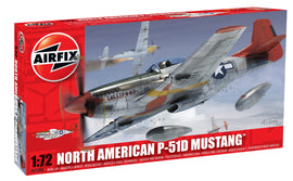 Airfix - Model Kit - North American P-51D Mustang 1:72 (Skill Level 1)
