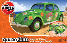 Airfix - Quick Build - Flower Power Volkswagen Beetle