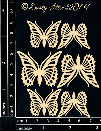 "Dusty Attic - ""Mini Monarch Butterflies"""