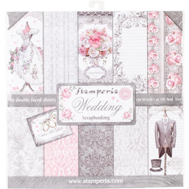 Stamperia - 12x12 Paper Pack - Wedding