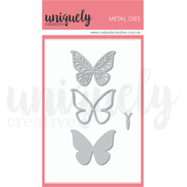 Uniquely Creative - Something Blue - Butterfly Builder Die Set