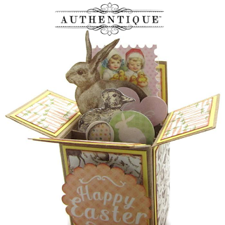 "Authentique - Eastertime - 6x6 ""One"""