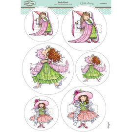 Hobby House - Mo Manning Topper Sheet -Little Diva's