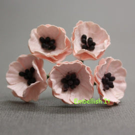 Poppies - Pale Pink