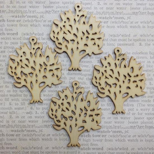 Artfull Embellies - Wooden Shapes - Trees