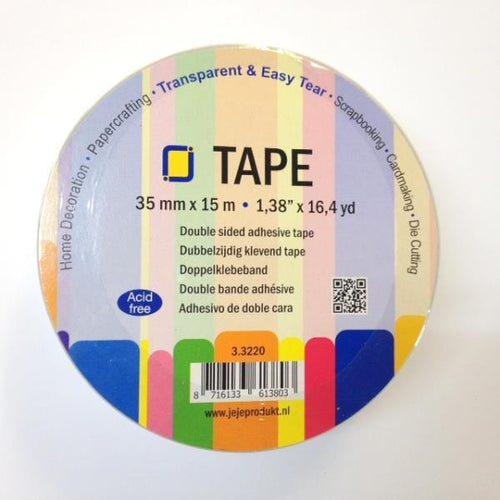 JEJE Double-sided Tape - 35mm (15mtr)