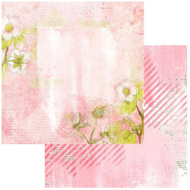 "**Pre-Order** 49 and Market - Vintage Artistry Blush - 12x12 Paper ""Serene"" (eta end Jan 21"