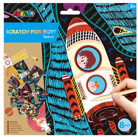 Avenir - Scratch - Space (8pcs)