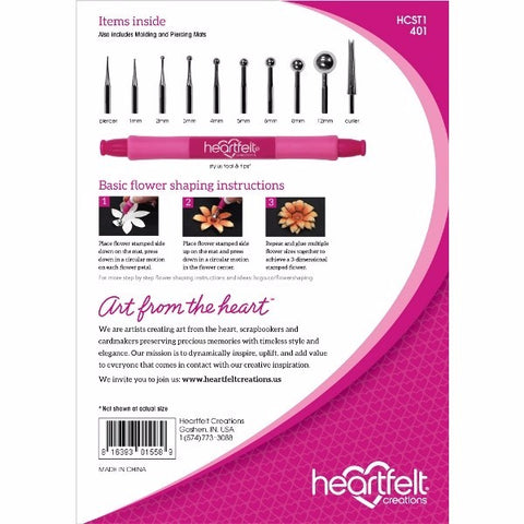 **Request Item** Heartfelt Creations - Deluxe Flower Shaping Kit