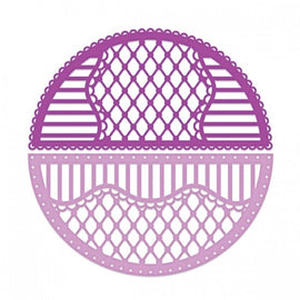 Heartfelt Creations - Rounded Lattice Window Die Set