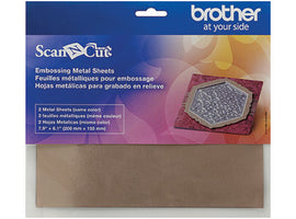 **Request Item** - Brother ScanNCut Metal Sheet Bronze (Embossing)