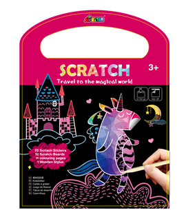Avenir - Scratch 3 in 1 Play - Travel to the Magical World