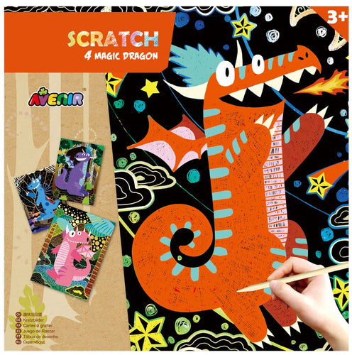 Avenir - Scratch - Magic Dragons (4pcs)