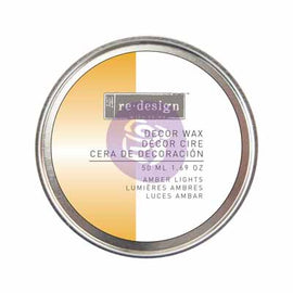 Prima Marketing - Re-Design Wax Paste - Amber Lights (Yellow Gold) 50ml