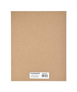 "Grafix - Medium Weight Chipboard - A4 Natural  (8.5x11"")"