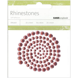 Kaisercraft Rhinestones - Lippy Red