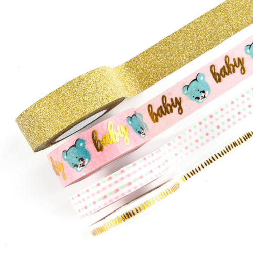Prima Marketing - Heaven Sent 2 - Decorative Washi & Glitter Tape