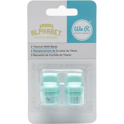 We R Memory Keepers - Mini Alphabet Punch Board Blade Refill 2pk
