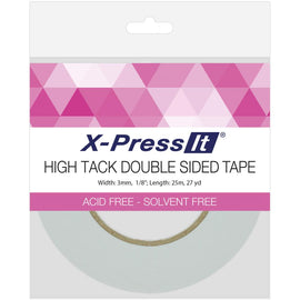 X-Press It - High Tack Double Sided Tape 3mm