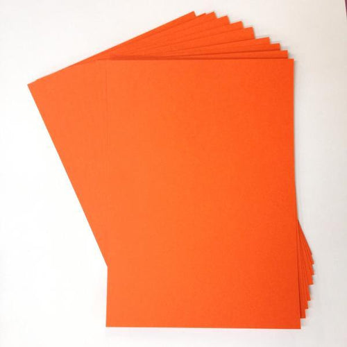 Artfull Cardstock - A5 Card Pack - Orange (10 sheets)