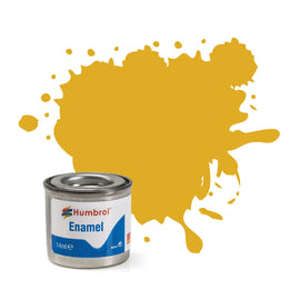 Humbrol - 14ml Enamel Paint - Metallic Sovereign Gold