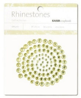 Kaisercraft Rhinestones - Yellow