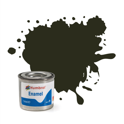 Humbrol - 14ml Enamel Paint - Metallic Gun Metal