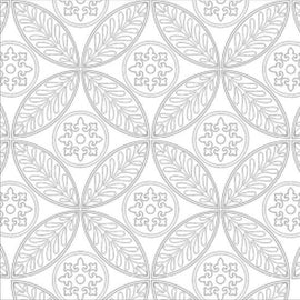 Craft Co - Pavlova Colour Me - 12x12 Paper Medieval Tile