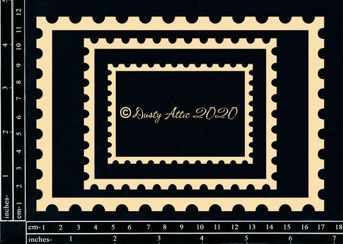 "Dusty Attic - ""Get Framed - Postage Rectangle"""