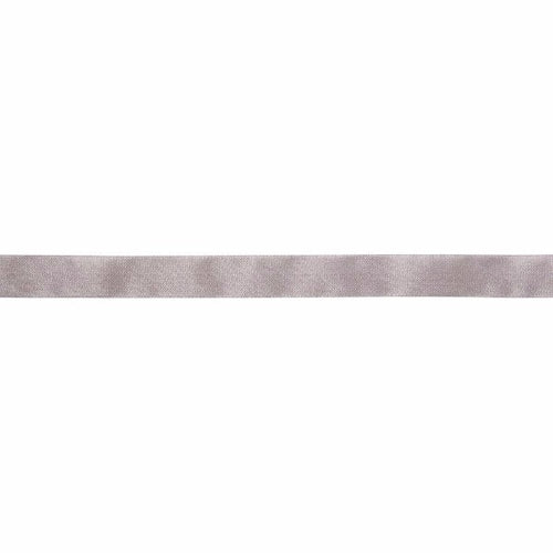 "May Arts Ribbon - 5/8"" Seam Binding - Grey (1 Meter)"